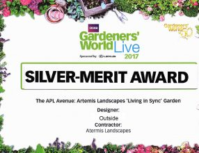Our award winning 'Living in Sync' show garden is on the move